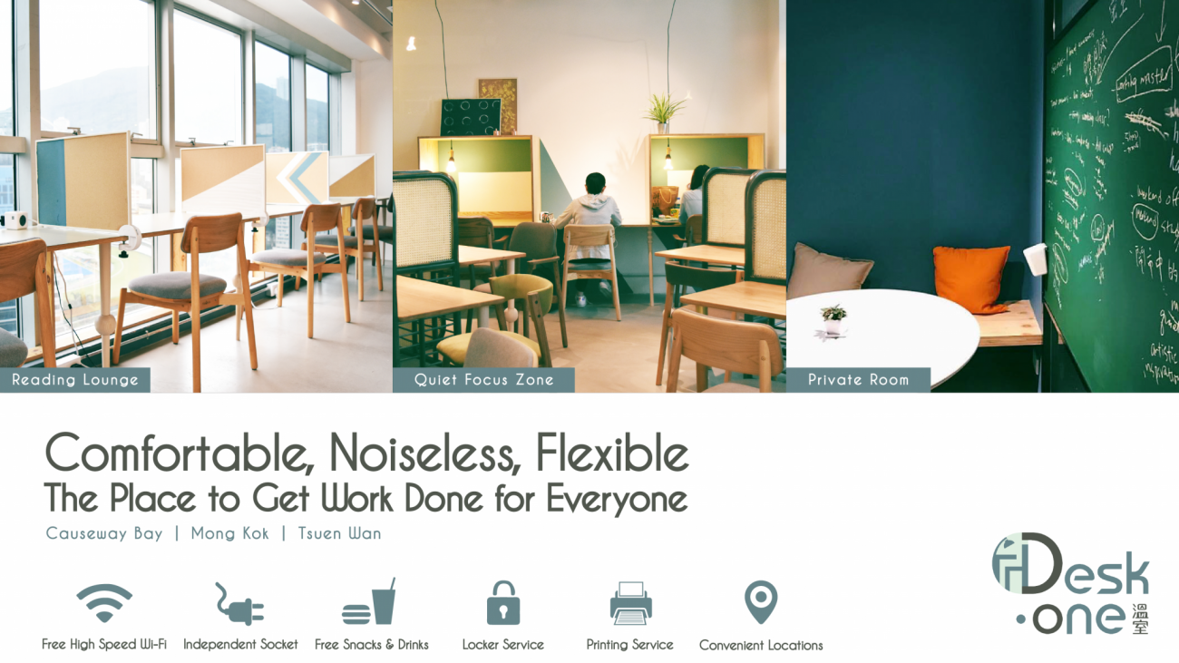 Desk One The Pioneer Of On Demand Cowork Study Space Opens