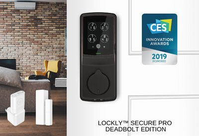 Lockly™ is honored with 2019 CES Innovation Awards