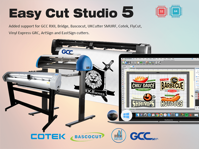 Easy Cut Studio 5 Banner Image