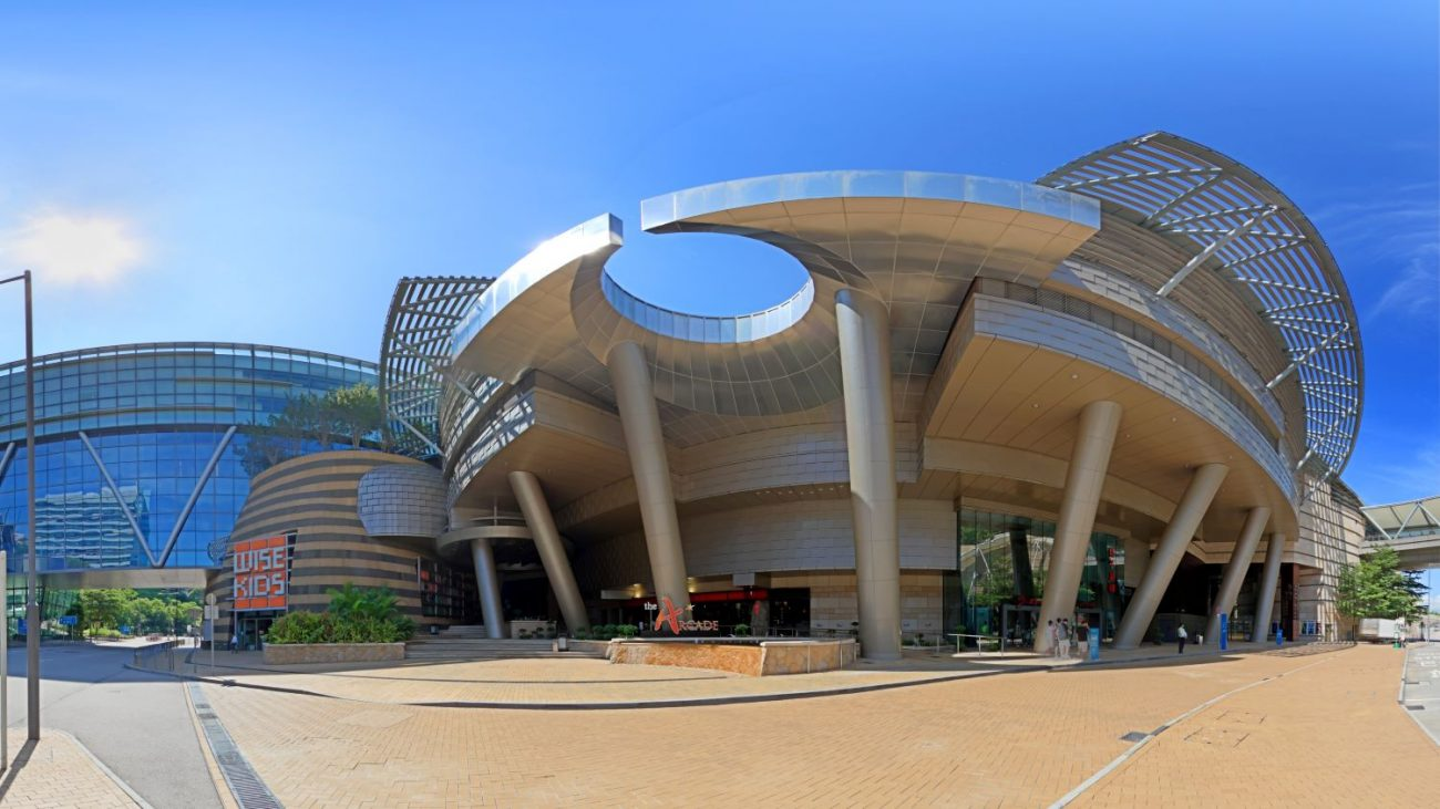 Cyberport Arcade Exterior Full Panorama High Res
