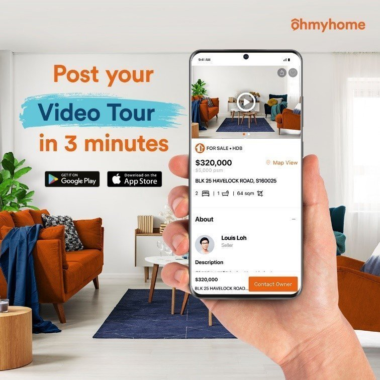 ohmyhome virtual home viewing