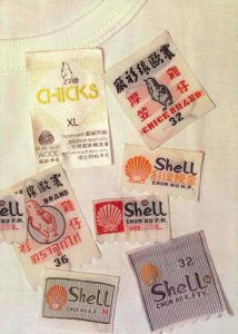 chicks chun au old labels